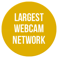 Largest webcam network with over 5,000,000 visitors per day!